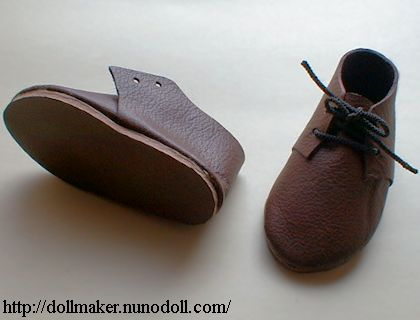 8caf458202499 Boy doll making / Shoes