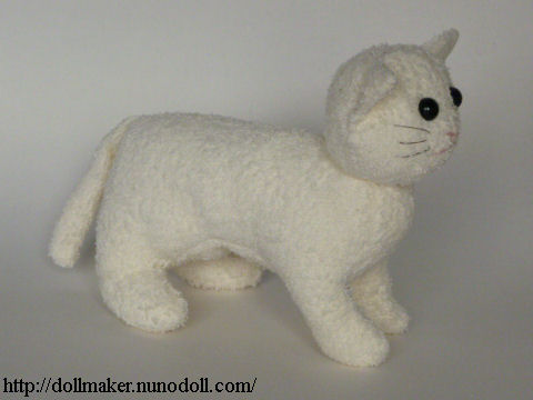Terry Cat Making