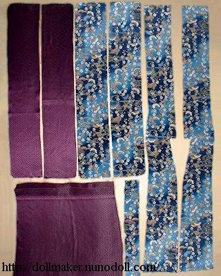 Pièces de kimono