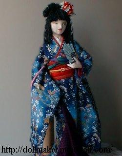 Kimono poupée