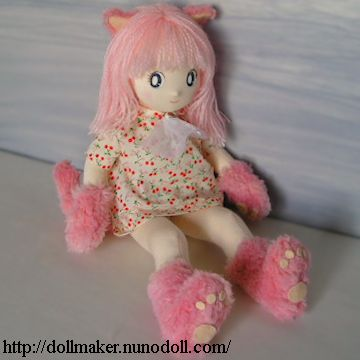 Nekomimi fille poupée