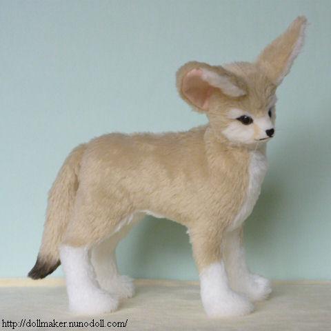 stuffed fennec fox
