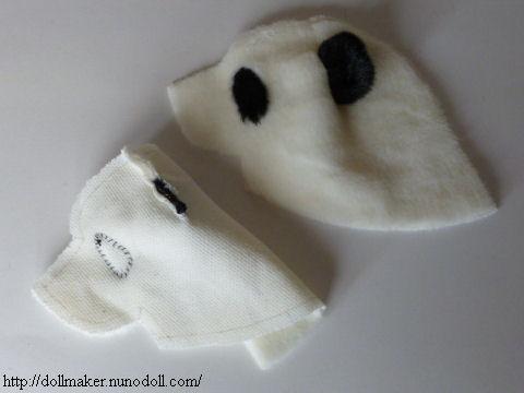 Panda Pouch Sewing