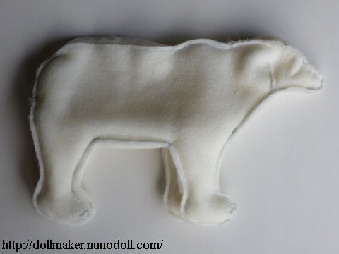 Stuffed Polar Bear Sew