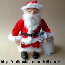Père Noël en rouge