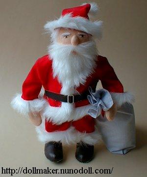 Père Noël poupée